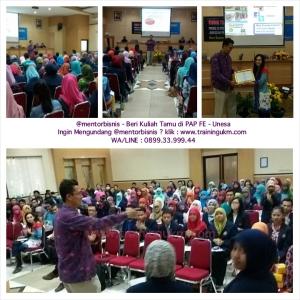 Pembicara Seminar Wirausaha - 0899.33.999.44